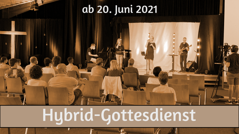 Hybrid-Gottesdienst